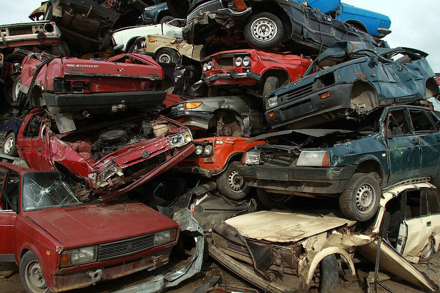 Сдать машину в утиль в Москве
